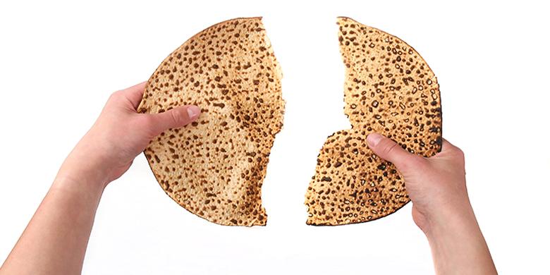 הא לחמא הוא לחם החוויה לחם ההכרזה החומר-מזון שלנו למחשבה