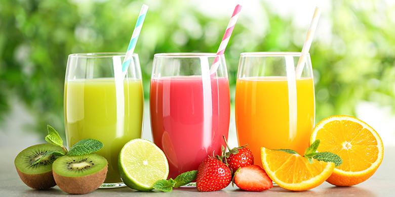 שייקים בריאים של פירות