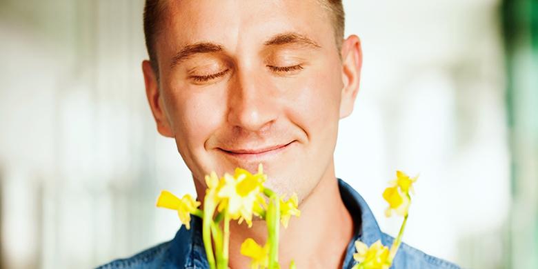 לכל אדם יש אף וחוש ריח שמשקפים ברמה שלו את האף ואת חוש הריח של משיח