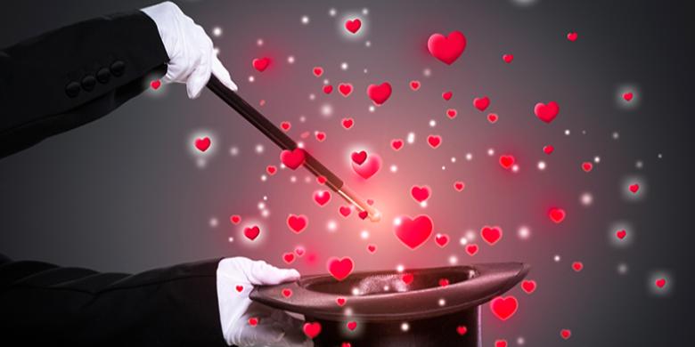 אהבה זה לא מופע קסמים